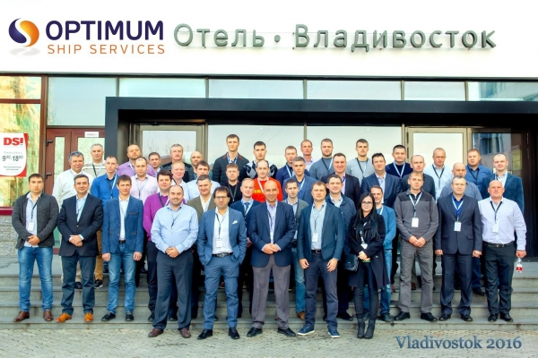 Crew Conference at Vladivostok, Russia - October 2016